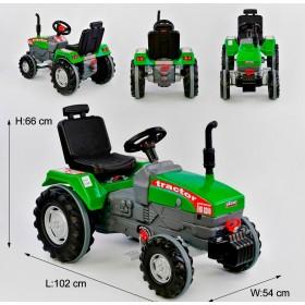 Трактор з педалями Pilsan 07-294 зелений