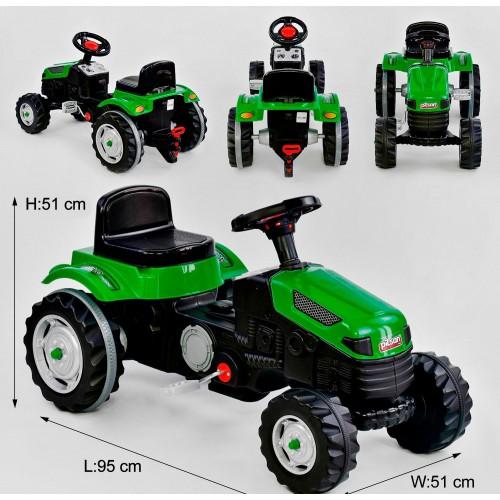 Педальный трактор Pilsan 07-314 зеленый