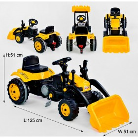 Екскаватор з педалями Pilsan 07-315 жовтий