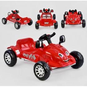 Педальна машинка HERBY-07-302 червона