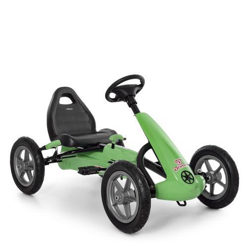 Педальный карт BAMBI M 4120 зеленый