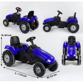 Педальный трактор Pilsan 07-321 синий