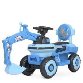 Каталка - трактор Bambi M 4616, синяя