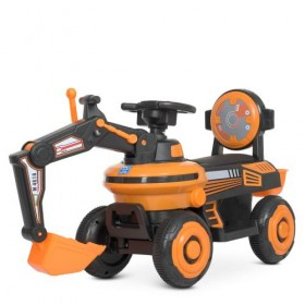 Каталка - трактор Bambi M 4616, оранжевая