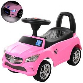 Каталка - толокар Bambi, машинка M3147С, розовая
