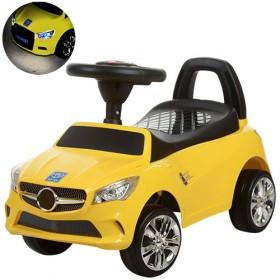 Каталка - толокар Bambi, машинка M3147С, жовта
