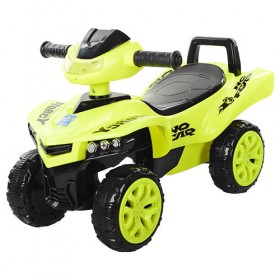 Каталка - толокар Bambi, квадроцикл M3502, жовтий