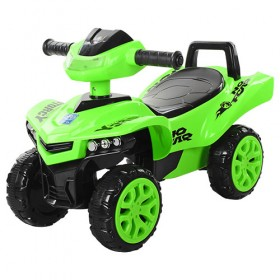 Каталка - толокар Bambi, квадроцикл M3502, зелений