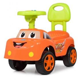 Каталка - толокар, машинка Bambi M4073, помаранчева
