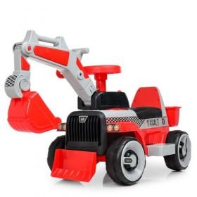 Каталка - трактор Bambi M 4144 L, красная