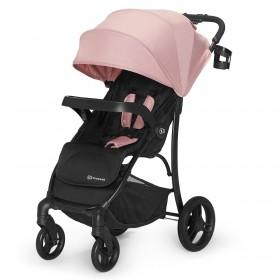 Прогулочная коляска-книжка Kinderkraft Cruiser розовая