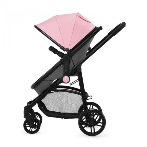 Коляска универсальная 3 в 1 Kinderkraft Juli розовая