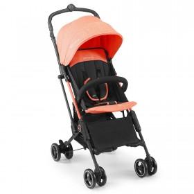 Прогулочная коляска-книжка Kinderkraft Mini Dot оранжевая