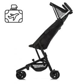 Прогулянкова коляска-тростина EL CAMINO ME 1033 QWERTY чорна