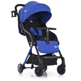 Прогулянкова коляска-книжка EL CAMINO ME +1036 MIMI синя