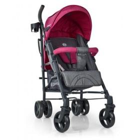 Прогулочная коляска-трость EL CAMINO ME1029 BREEZ розовая
