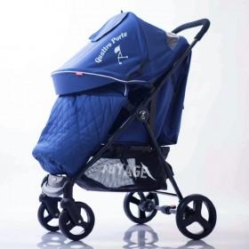 Прогулянкова коляска-книжка Quattro Porte QP-234 синя