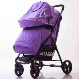 Прогулянкова коляска-книжка Quattro Porte QP-234 фіолетова