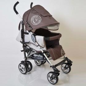 Прогулянкова коляска-тростина Sigma SunnyLove коричнева