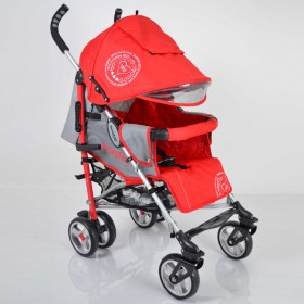 Прогулянкова коляска-тростина Sigma SunnyLove червона