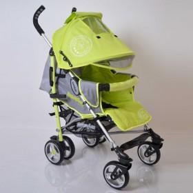 Прогулянкова коляска-тростина Sigma SunnyLove зелена