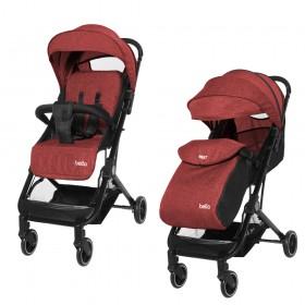 Прогулочная коляска-книжка Tilly Bella T-163 с дождевиком красная
