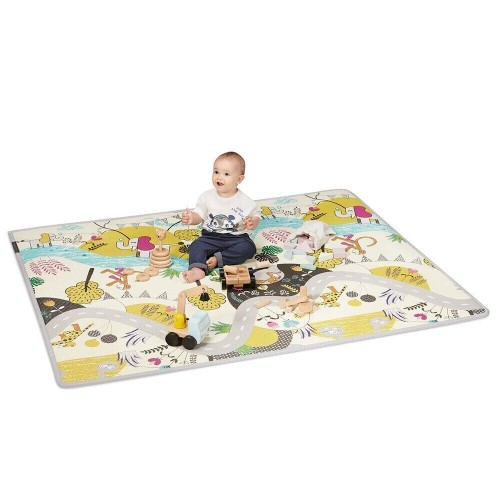 Двусторонний коврик Kinderkraft Matty