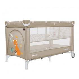 Манеж-кровать Carrello Piccolo+ CRL 9201/2, бежевый