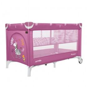 Манеж-ліжко Carrello Piccolo + CRL 9201/2, фіолетовий