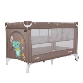 Манеж-кровать Carrello Piccolo+ CRL 9201/2, коричневый