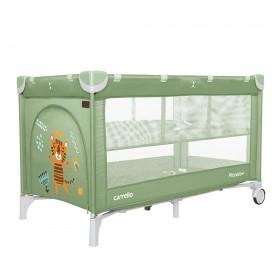 Манеж-ліжко Carrello Piccolo + CRL 9201/2, зелений