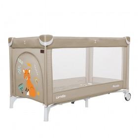 Манеж-ліжко Carrello Piccolo CRL 9203/1 бежевий