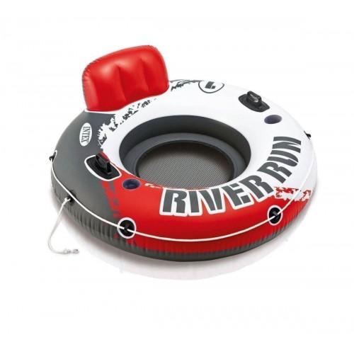 Надувное кресло Intex Ривер Ран 56825 EU, красное