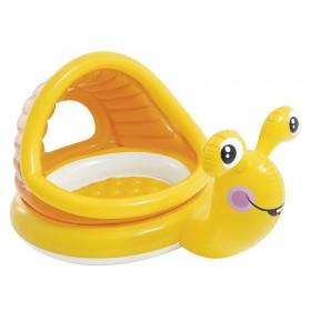 Детский надувной бассейн Intex Ленивая Улитка 57124 NP