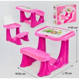 Парта учебная Pilsan 503-433 розовая