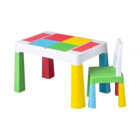 Столик со стульчиком Tega Baby MULTIFUN разноцветный