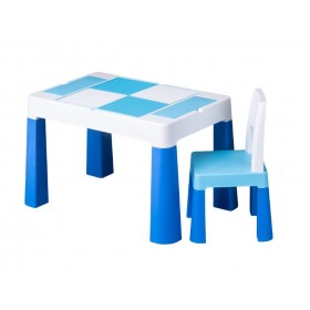 Столик со стульчиком Tega Baby MULTIFUN синий