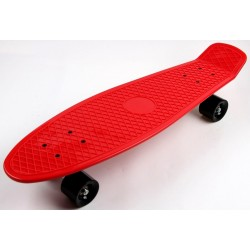 Пенни борд Nickel - удлиненный, 27 дюймов (Penny Board) красный с черными колесами