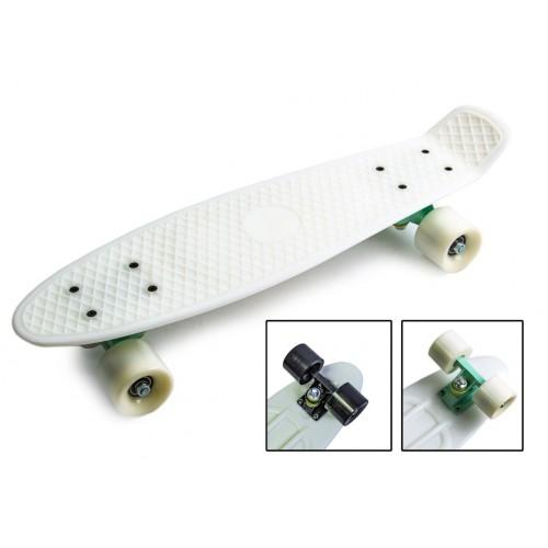 Пенни борд Стандарт 22 (Penny Board Classic) белый