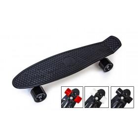 Пенні борд Стандарт 22 (Penny Board Classic) чорний з чорними колесами