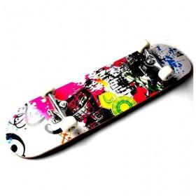 Скейтборд с рисунком Sportdrive Rainbow