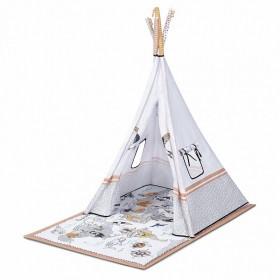 Розвиваючий килимок-палатка 3 в 1 Kinderkraft Tippy