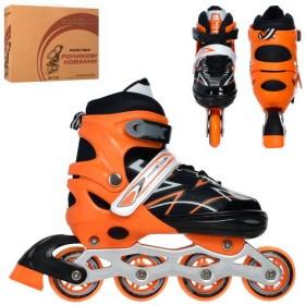 Розсувні роликові ковзани PROFI A4142-L (38-42, L) помаранчеві