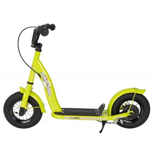 Двухколесный самокат BikeStar Kids Kick Scooter 10 салатовый