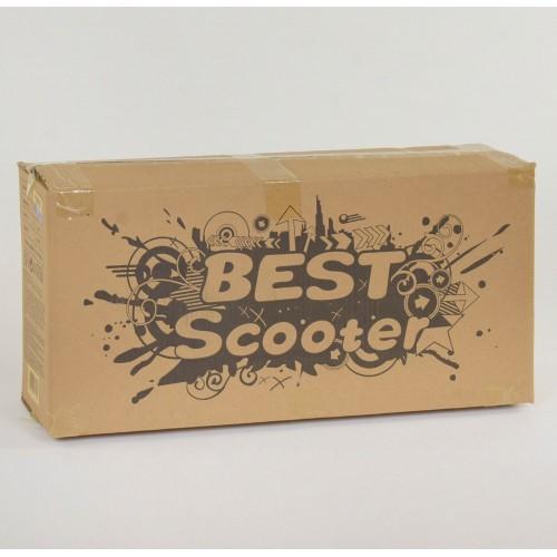 Трехколесный самокат Best Scooter 5 в 1 print 35110 черный