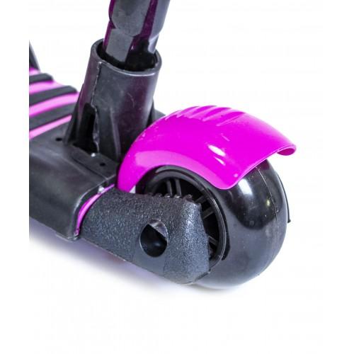 Трехколесный самокат-беговел Scooter 5в1 Божья коровка розовый