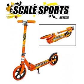 Двухколесный самокат Scale Sports 5460 оранжевый