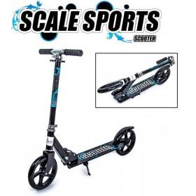 Двухколесный самокат Scale Sports 5460 черный
