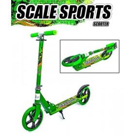 Двухколесный самокат Scale Sports 5460 зеленый