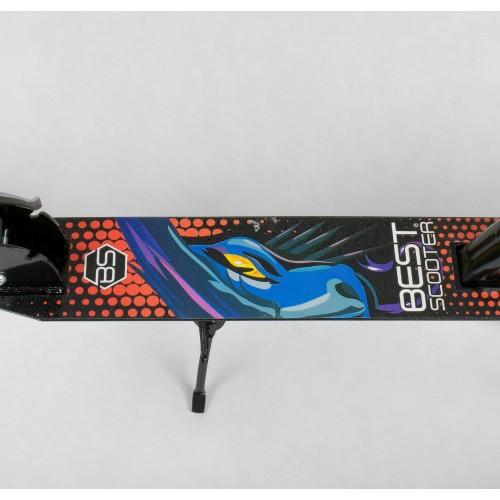 Двухколесный самокат Best Scooter складной механизм  30458 черный